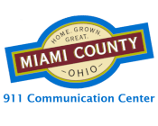 Miami County Logo for 911 Communication