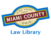 Miami County Logo for Law Library