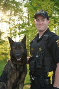 Image of K9 Vello and Deputy Thobe